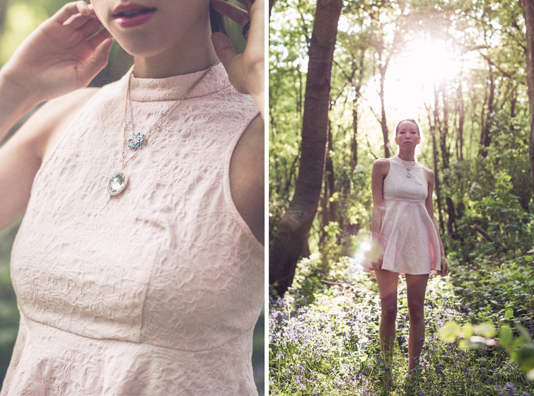 Girl in the Lens | Jarlo London dress and Swarovski jewellery
