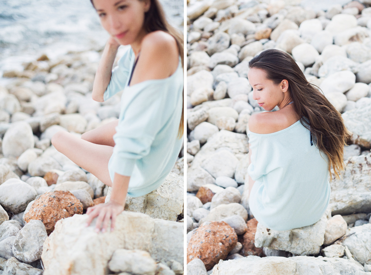 Girl in the Lens | beach photoshoot