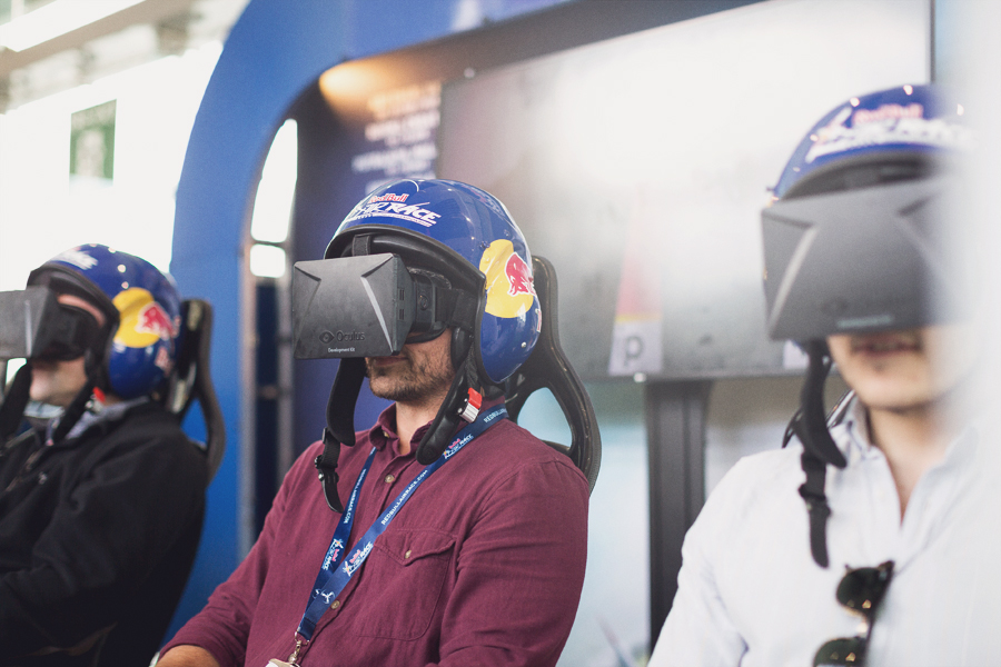 Red Bull Air Race simulator