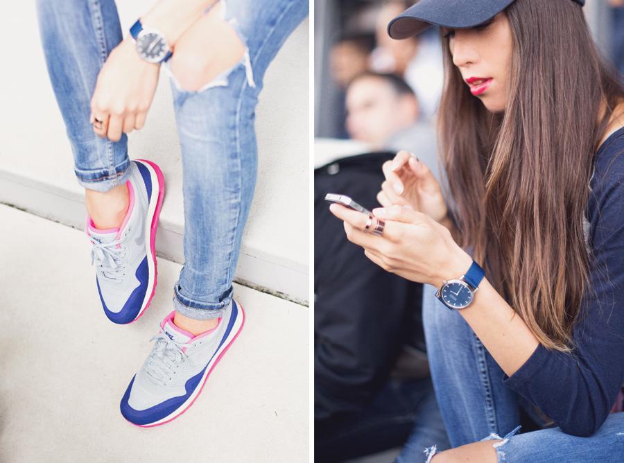 Girl in the Lens | sportswear inspired