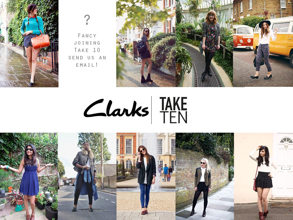 Take 10 X Clarks