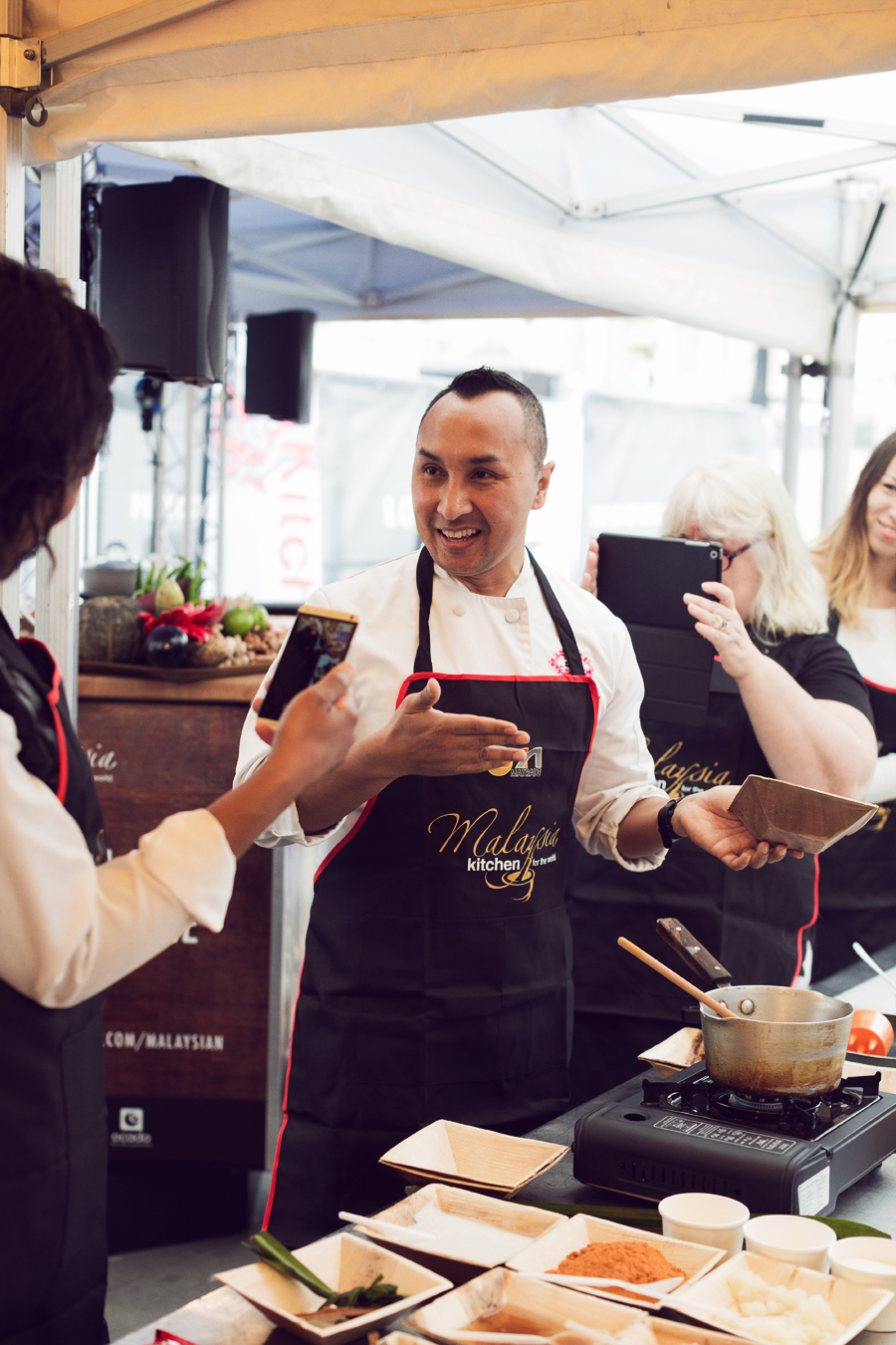 Malaysian chef Norman Musa