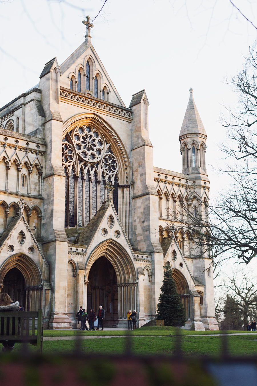 St Albans Abbey, Hertfordshire, UK