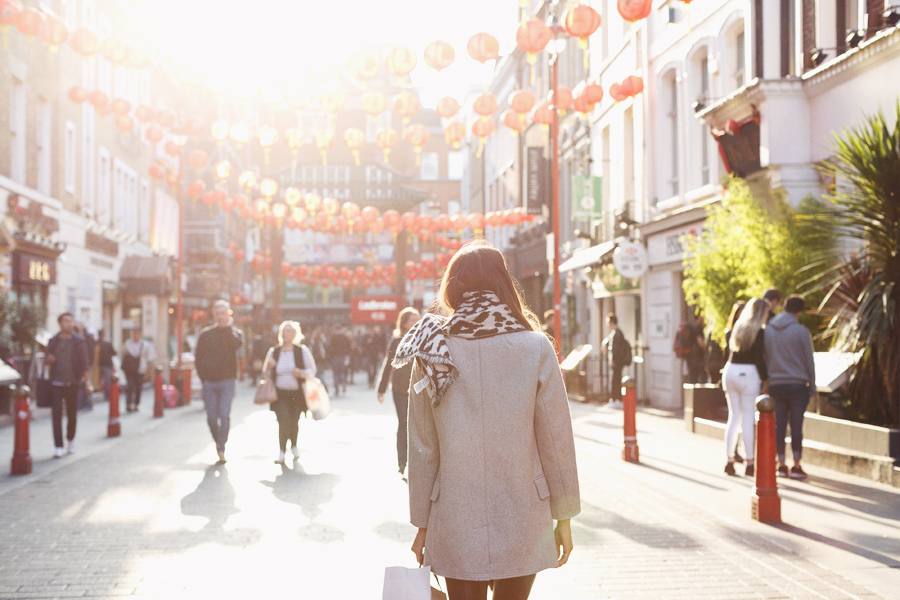 Girl in the Lens | Chinatown London